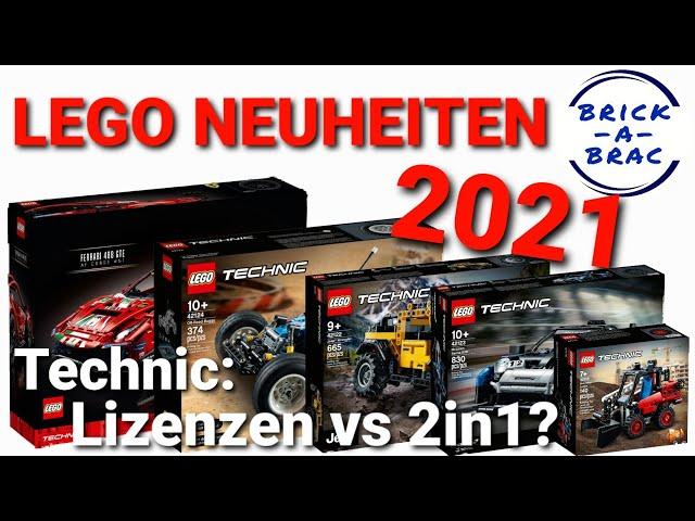 LEGO® TECHNIC 2021: Wo geht die Reise hin? [LEGO® Neuheiten 1. HJ 2021]