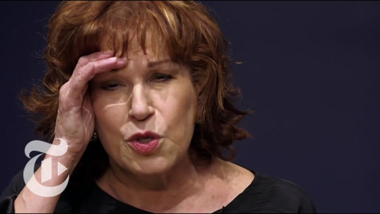 joy behar apology