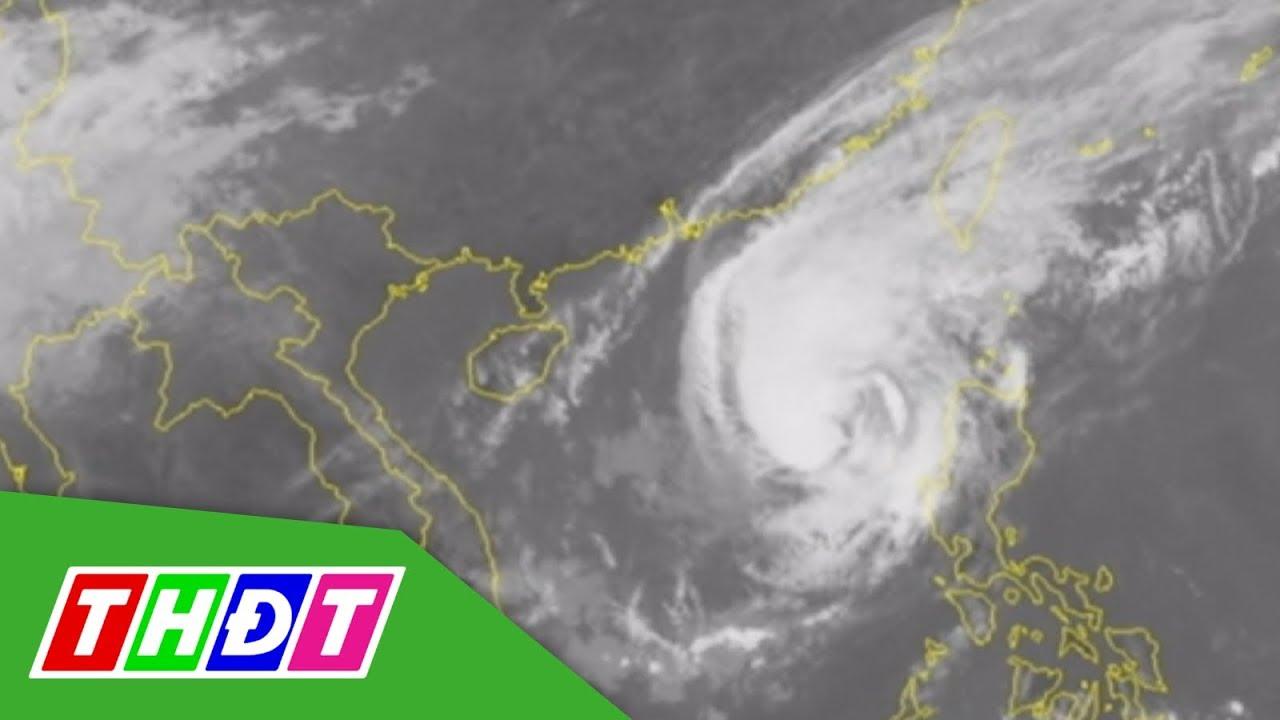 Bão số 7 hoành hành Đông Bắc biển Đông, biển động rất mạnh | THDT