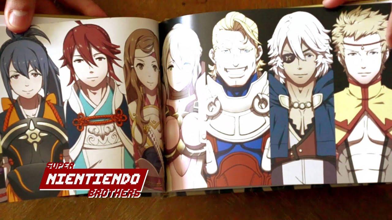 Fire Emblem Fates Special Edition Unboxing