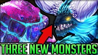 NEW MONSTER XENO'GANTE MOD - Dodogama + Jagras Deviant VS Pro + Noob - Monster Hunter World PC Mods!