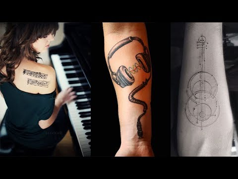 Rockin' Music Tattoos That Will have You Singing Part 2 - Tattoo Ideas