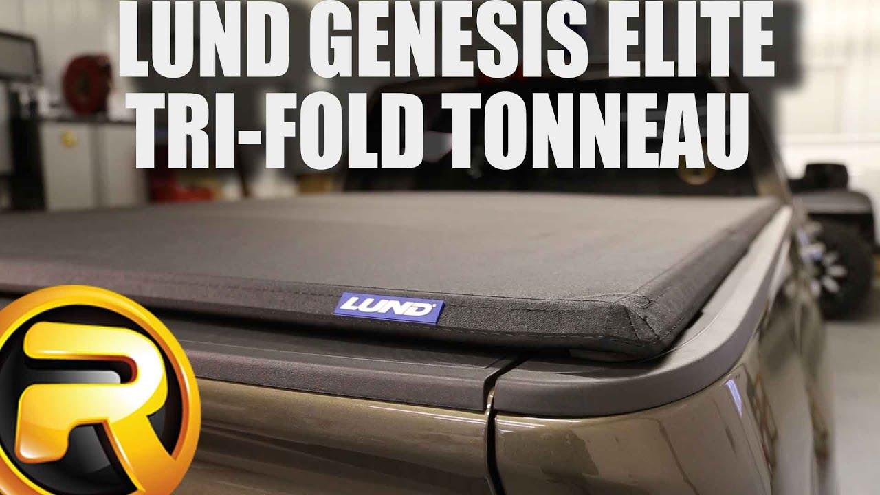 How to Install Lund Genesis Elite Tri-Fold Tonneau Cover on a GMC Sierra