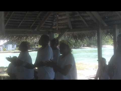 Fanning Island & Native Islanders Singing