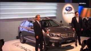 Manila International Auto Show 2015 Subaru Outback Glenn Tan
