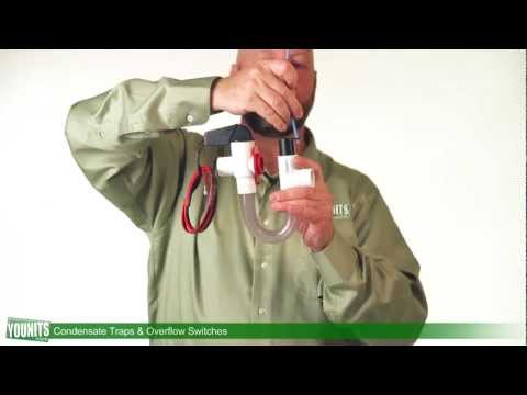 Video Guide to Condensate Traps and Overflow Switches  - Younits.com [HD]