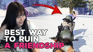 PUBG WITH FRIEND IN A NUTSHELL - PUBG WTF Girl Streamer Moments Ep. 15
