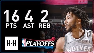 Derrick Rose Full Game 1 Highlights Timberwolves vs Rockets 2018 Playoffs - 16 Pts, 4 Ast, 2 Reb!