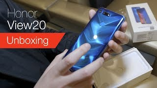 Honor View 20 unboxing live from CES