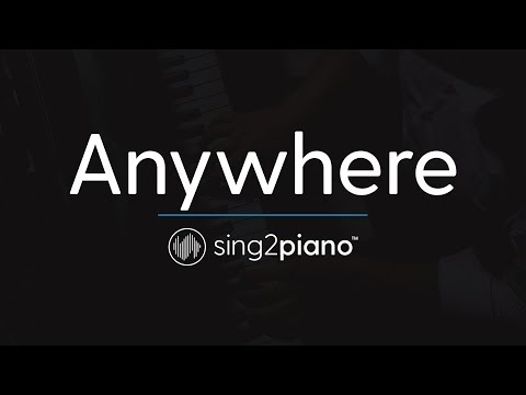 Anywhere (Piano Karaoke Instrumental) Rita Ora