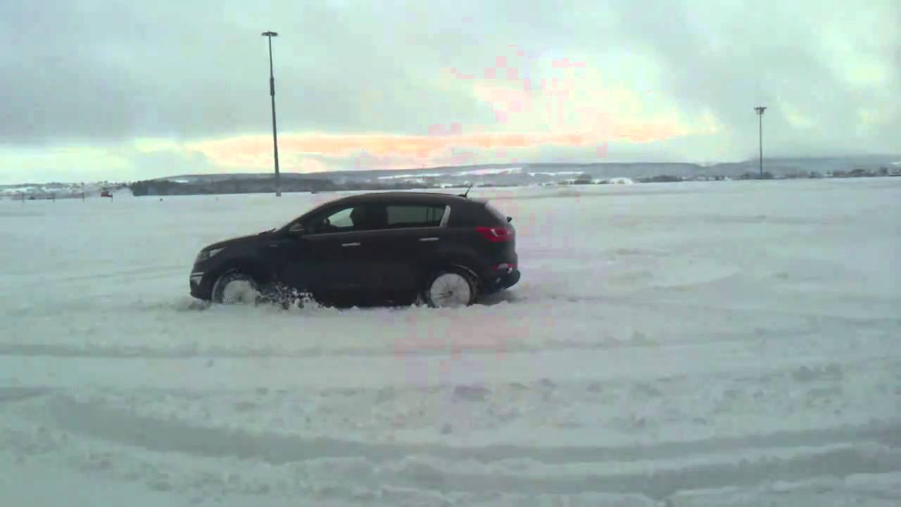 How did your Sportage perform in the snow? And what winter tires do