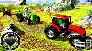 Tractor Racing Game 2020 - Driving Farm Vehicles Simulator    Best Android Gameplay screenshot 3