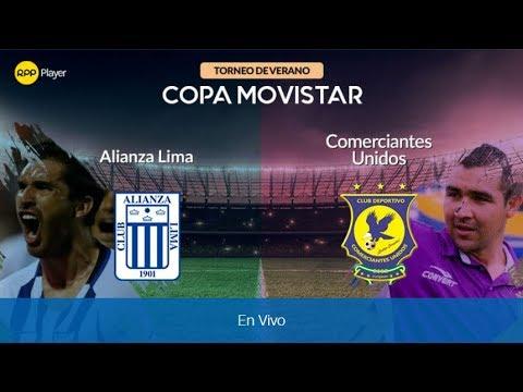 Alianza Lima vs Comerciantes Unidos 1 - 1 COPA MOVISTAR 04-02-18