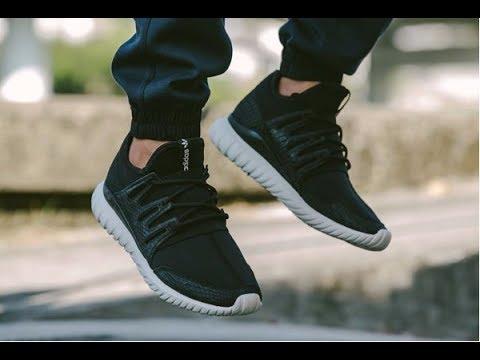unboxing revisione scarpe adidas tubulare s80120 radiale su youtube