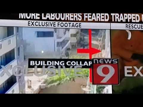 Bangalore building collapse in Kasavanahalli