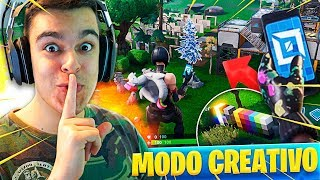LES SECRETS DE FORTNITE'S NEW CREATIVE MODE