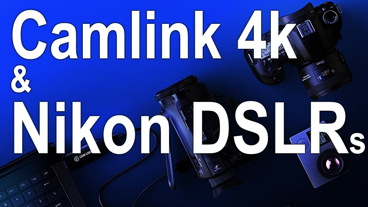Elgato Camlink 4k - How to Use a DSLR as Webcam - (Reviewed with D810)