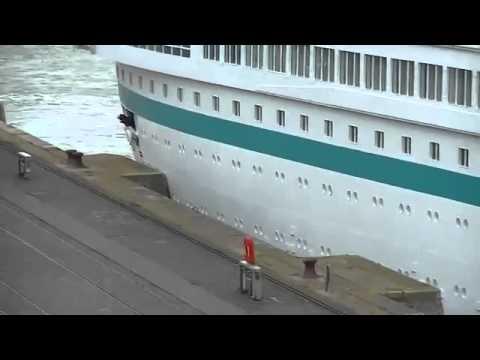 Kreuzfahrtschiff Albatros Unfall