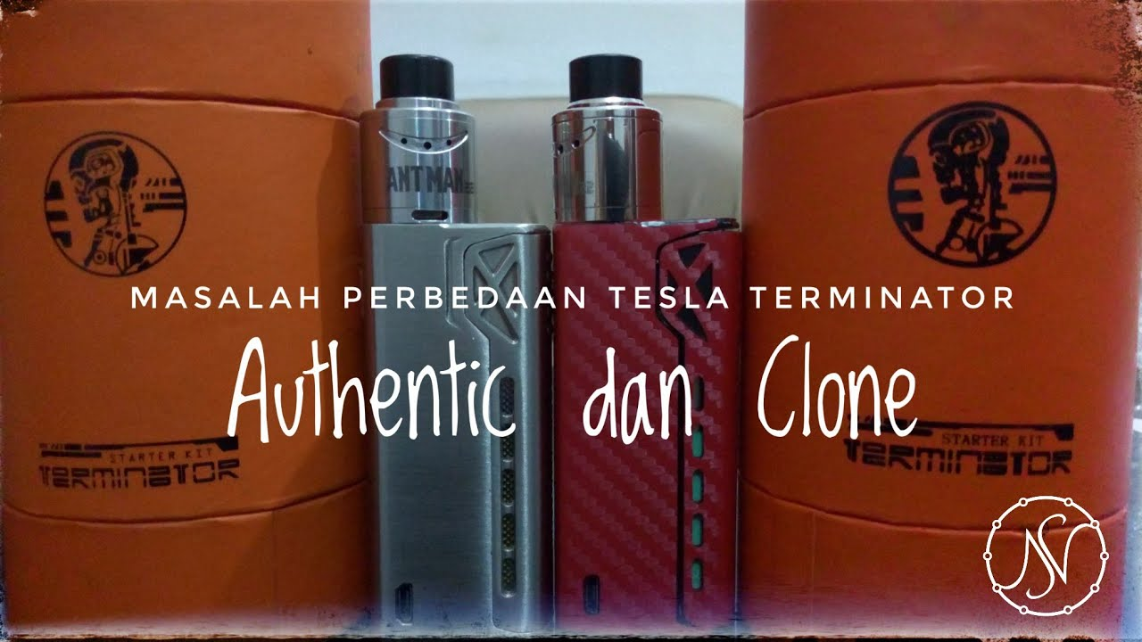 Tesla Terminator Led Berkedip Authentic Dan Clone Youtube