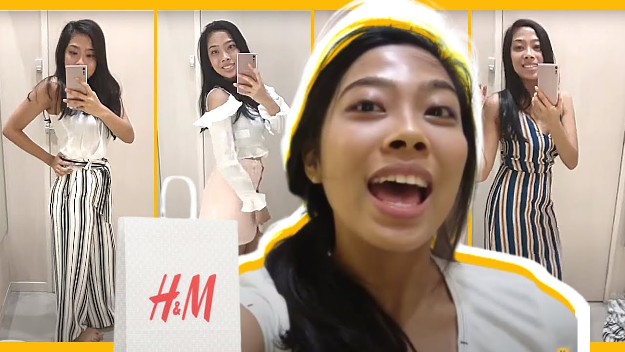 [VIDEO] - H&M TRY ON CLOTHING HAUL 2019 + COMES WITH A CHALLENGE (PHILIPPINES) | TeamBeautifulbyKC 9