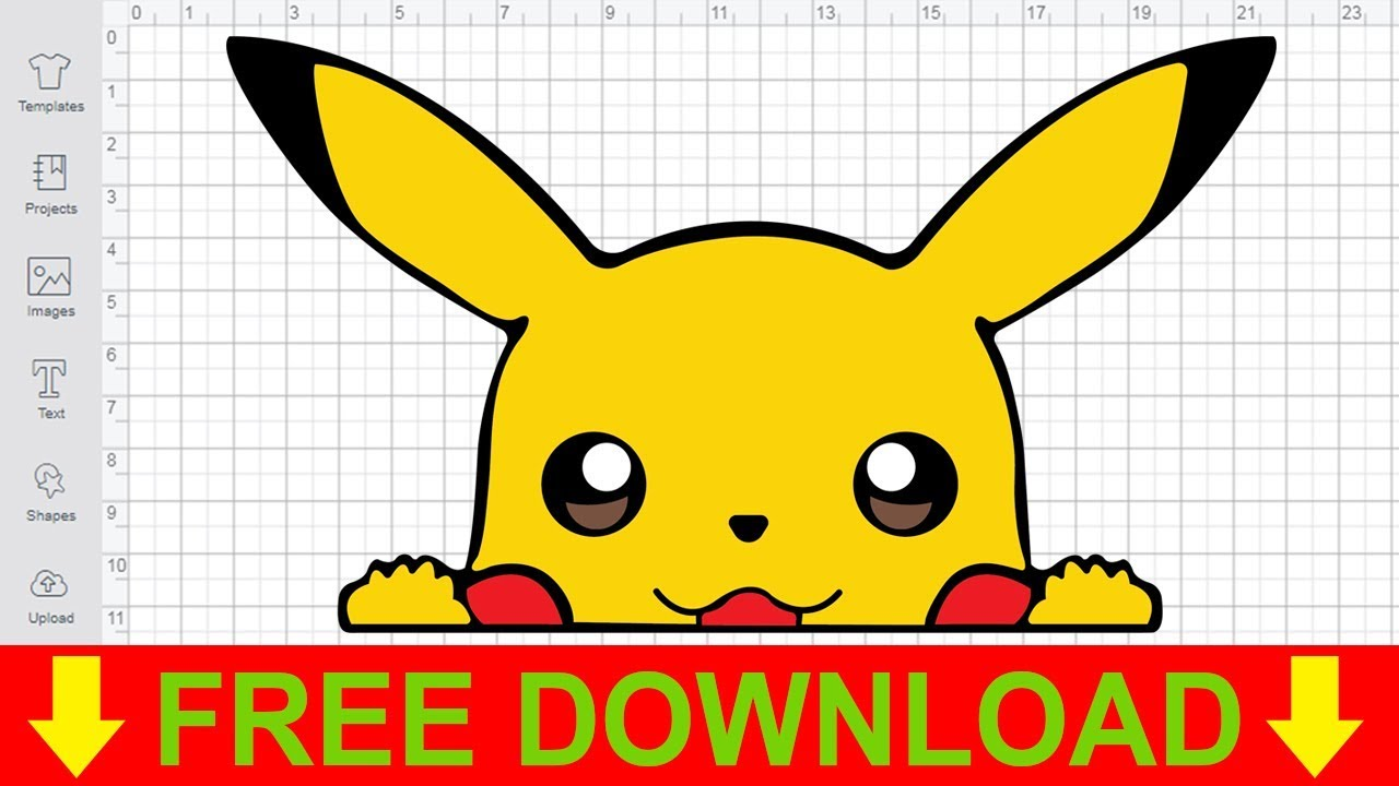 Download Pokemon SVG Free Svg Cut Files for Cricut Design Space ...