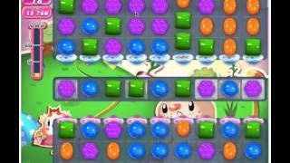 Candy Crush Saga Level 77 - 1 Star No Boosters