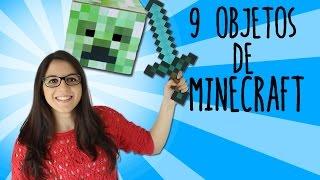 9 objetos de Minecraft que puedes hacer en tu casa (RECOPILACIÓN) thumbnail