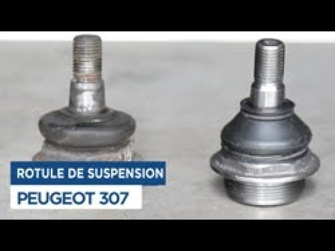changer la rotule de suspension peugeot 307 youtube