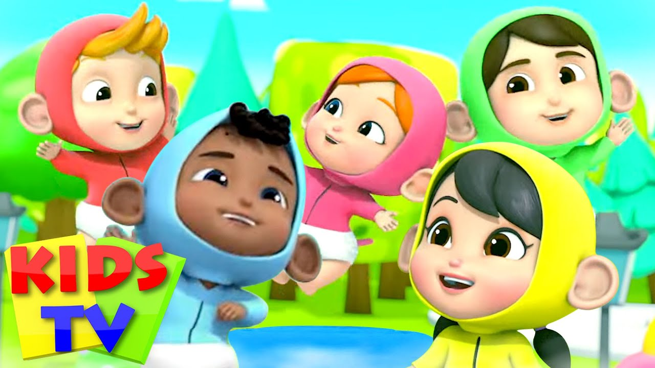 *New* Five Little Babies, Rig A Jig Jig, Jungle Song + More Nursery Rhymes & Baby Songs by Kids Tv