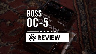 BOSS OC-5 Octave Effects Pedal | Better Music