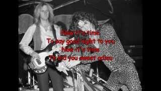 Aerosmith - Home Tonight (with lyrics)