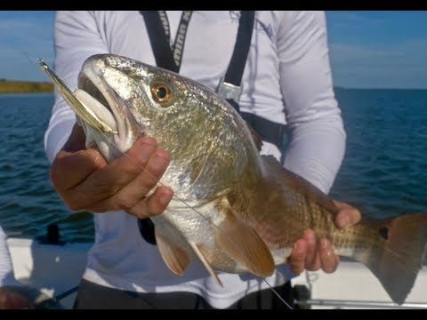 SPOON FISHING For REDFISH Toads Ft. HOW TO
