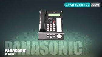 How To Set & Adjust The Ringtone On The Panasonic KX-T7630 Phone