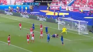 Izland 2-1 Ausztria: Bödvarsson gól