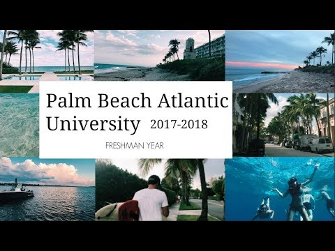 Palm Beach Atlantic University - Freshman Year