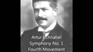 Artur Schnabel: Symphony No. 1 (Fourth Movement—Allegro Molto)
