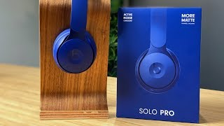 Beats Solo Pro Unboxing and Hands-On