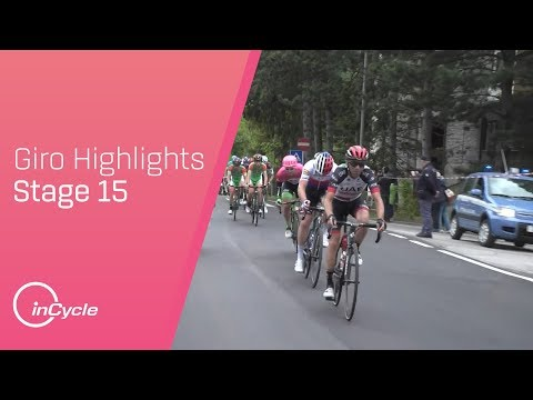 Giro d'Italia 2018 | Stage 15 Highlights | inCycle