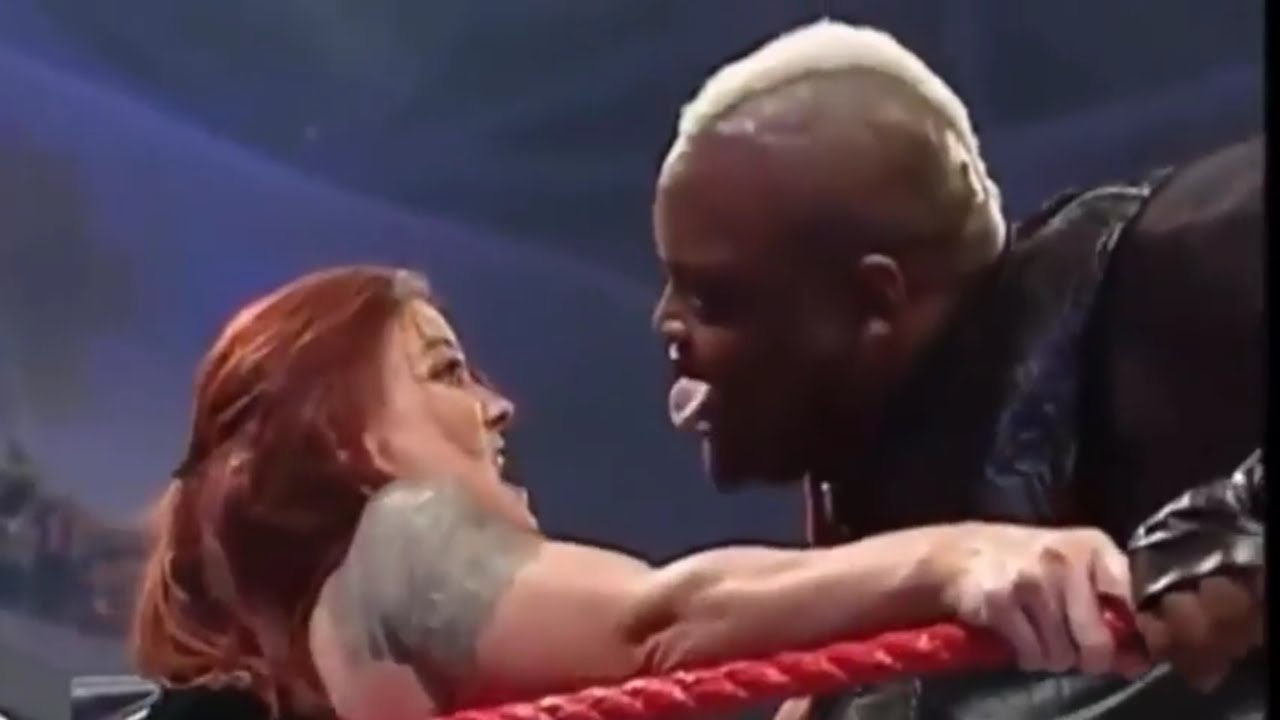 Wwe Viscera Kiss Trish