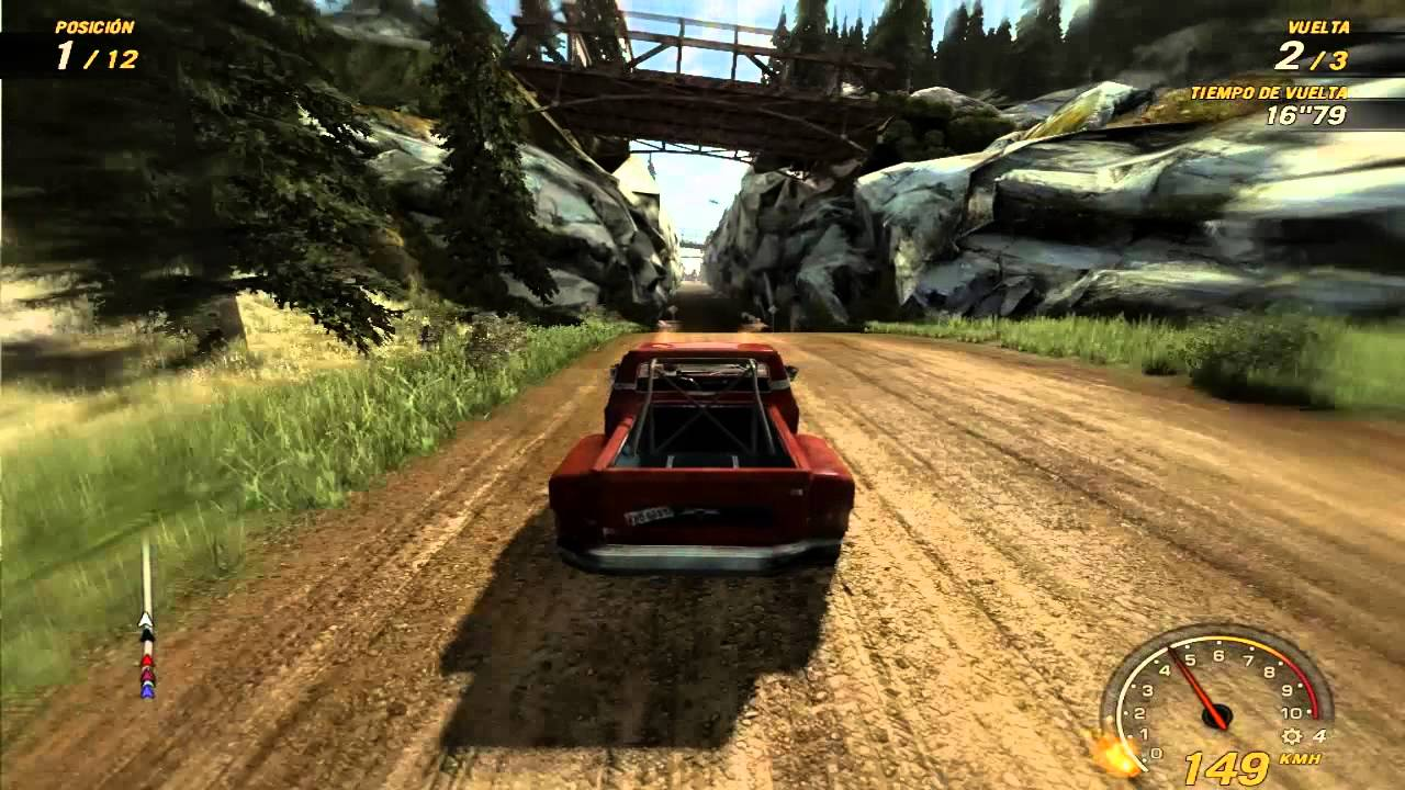 gameplay xbox 360 flatout ultimate carnage youtube. Black Bedroom Furniture Sets. Home Design Ideas