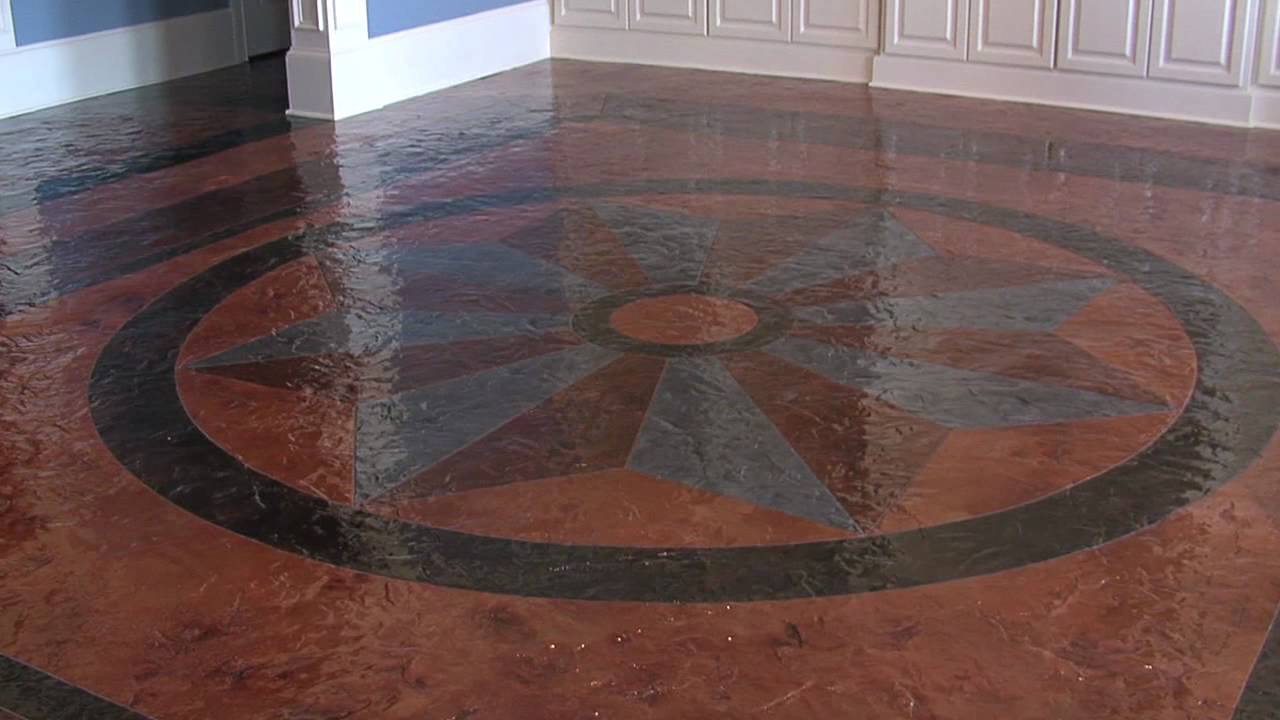 Concrete flooring ideas wynn residence youtube for Concrete floor covering ideas