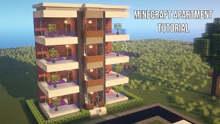 Minecraft Apartment Tutorial build