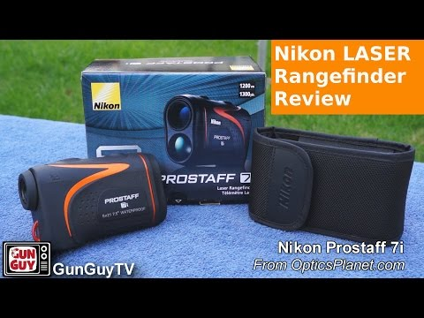 Nikon Laser Entfernungsmesser Prostaff 5 : Review laserentfernungsmesser nikon prostaff i youtube