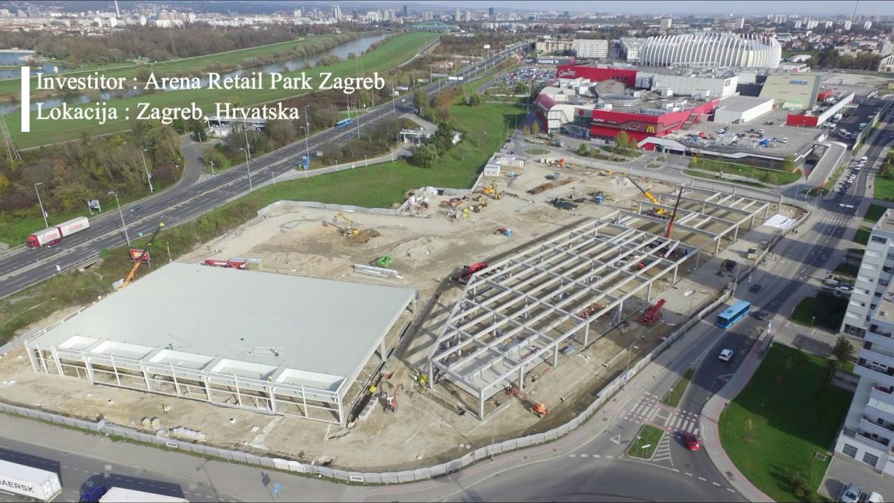 Sirbegovic Inzenjering Arena Retail Park Zagreb Youtube