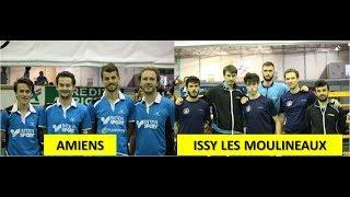 PLAY OFF 2018 Nationale 1: AMIENS SPORT TENNIS DE TABLE VS ISSY LES MOULINEAUX (8/2)