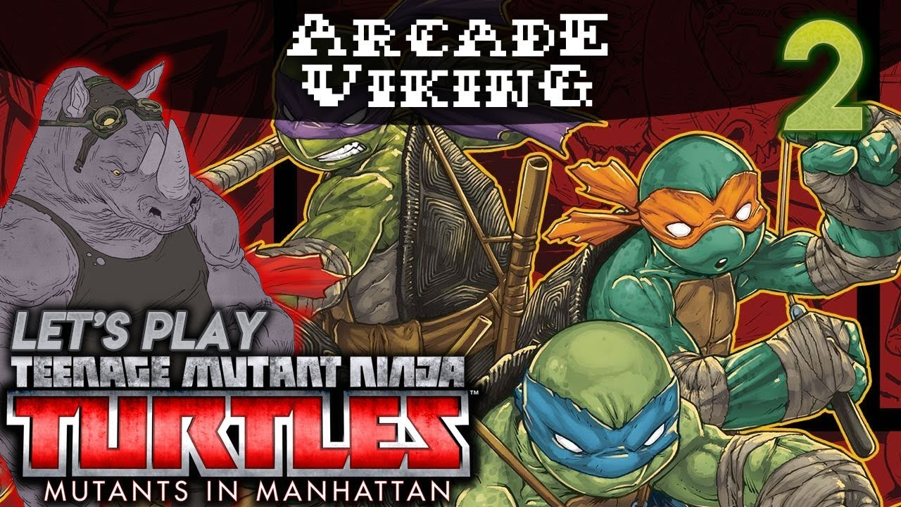 Lets Play Tmnt Mutants In Manhattan 2 Dave Sucks Youtube