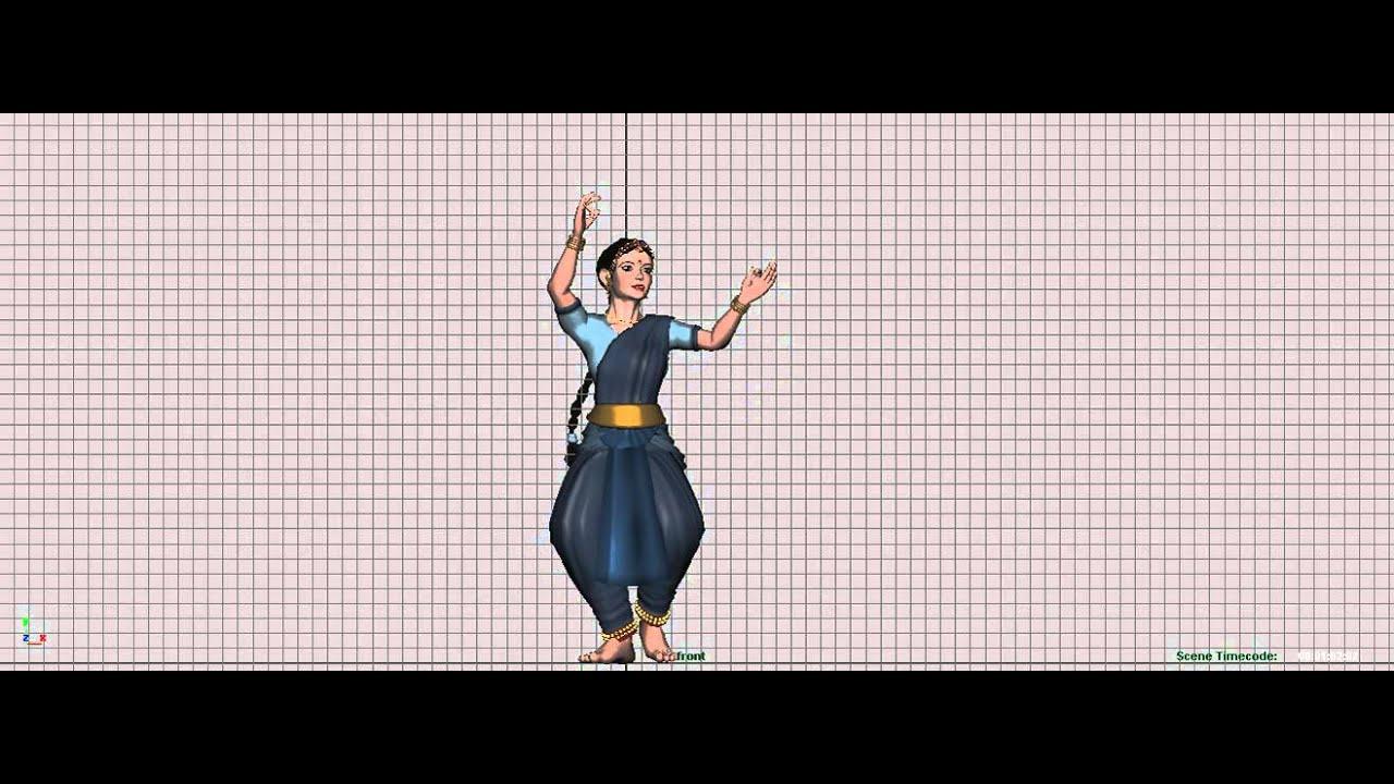 Kathak Animation 3d W I P Youtube