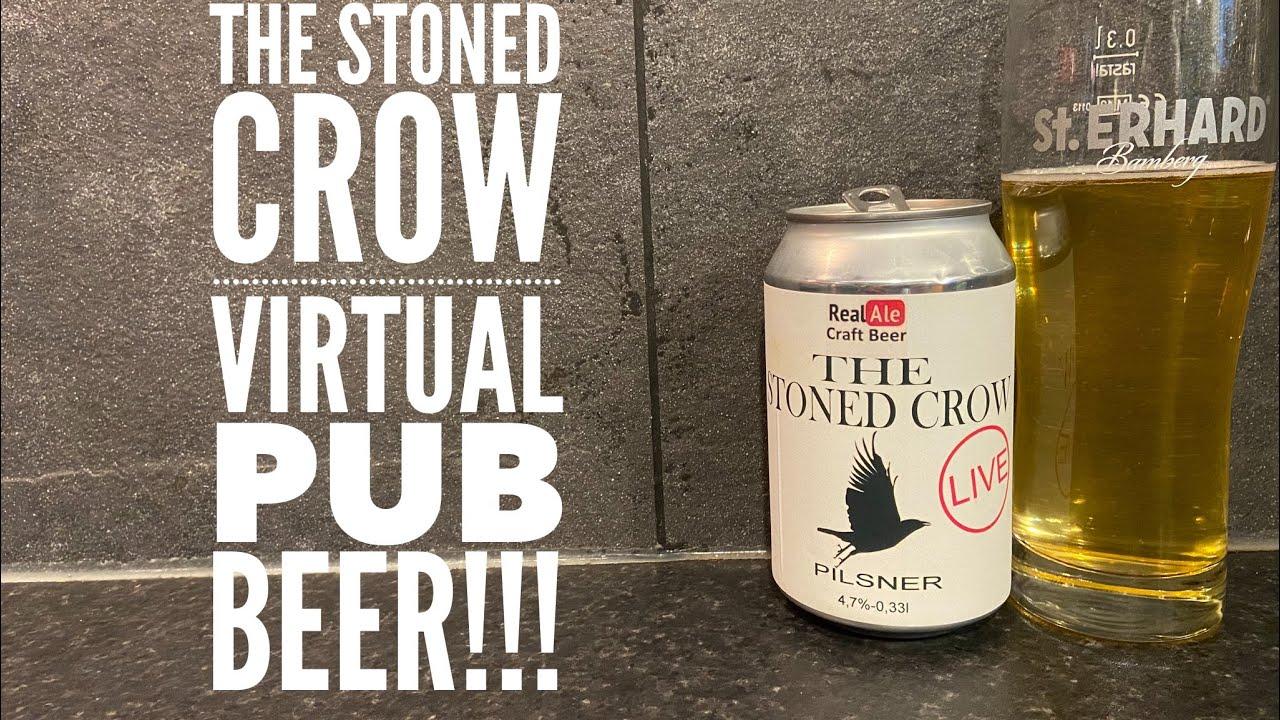 The Stoned Crow Virtual Pub Pilsner
