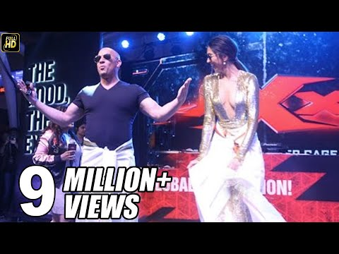 Deepika Teaches SRK's Lungi Dance To Vin Diesel - What Happens Next Will Blow Your Mind
