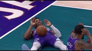donovan-mitchell-gets-hit-in-the-worst-area-possible-vs-kings